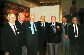 All ex-Crew of the Firedrake 60 years on.