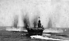 Ark Royal under attack