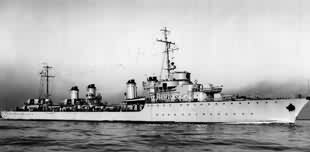 French Destroyer